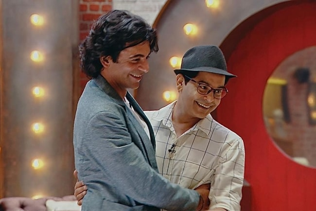 Gaurav Gera (Right) and Sunil Grover as seen in an Instagram post in May 2021