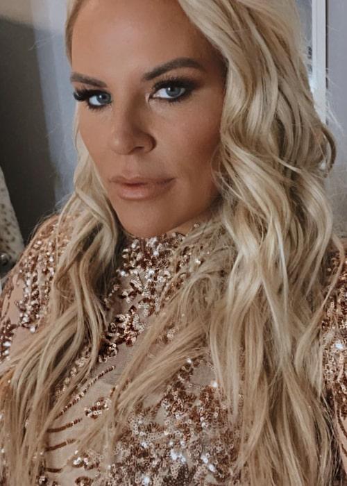 Heather Gay as seen in a selfie that was taken in February 2021