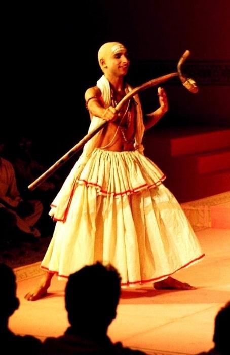 Inaamulhaq playing Madhavye (Vidushak) in Kalidasa's 'Abhijñānaśākuntalam'
