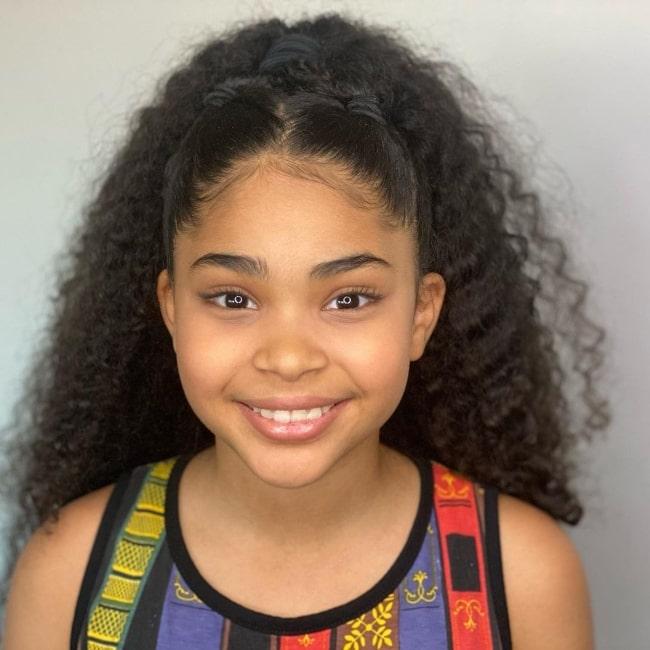 Jaidyn Triplett as seen in a picture that was taken in March 2021