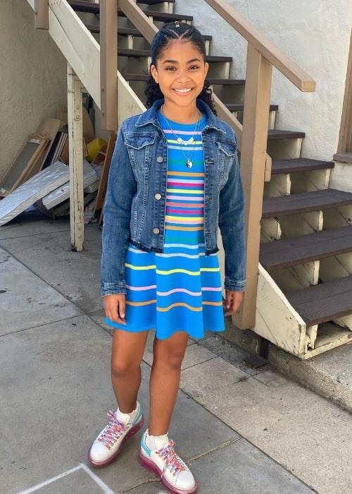 Jaidyn Triplett as seen in a picture that was taken in May 2021