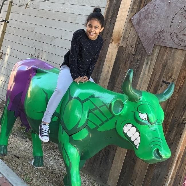 Jaidyn Triplett as seen in a picutre that was taken in Downtown, San Luis Obispo, California in April 2019