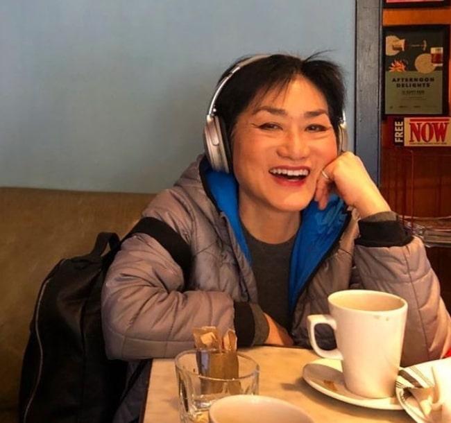 Jean Yoon as seen in an Instagram post in March 2020