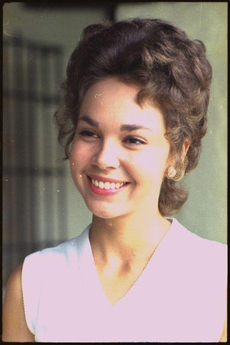 Julie Nixon Eisenhower as seen in 1973