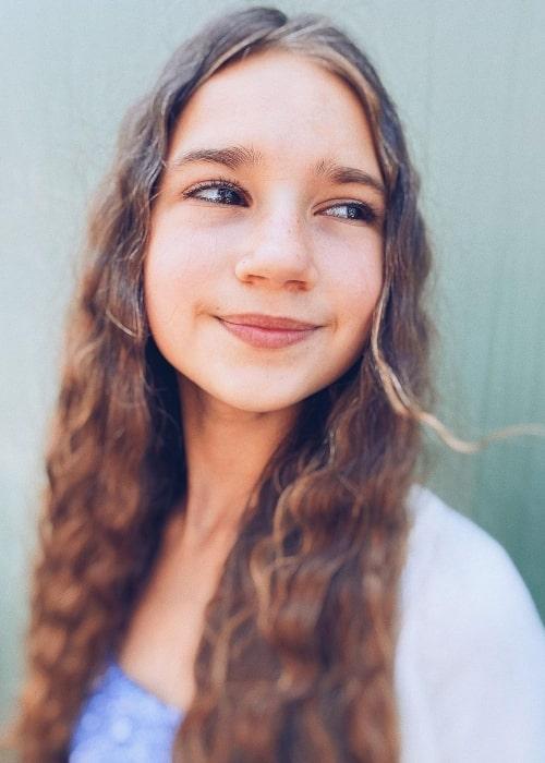 Karolina Protsenko in a picture that was taken in May 2021