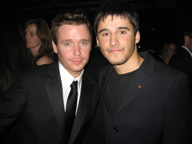 Kevin Connolly (Left) and Josh Wood in 2009