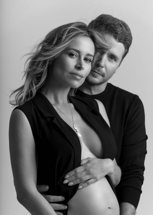 Kevin Connolly and Zulay Henao as seen in an Instagram post in March 2021