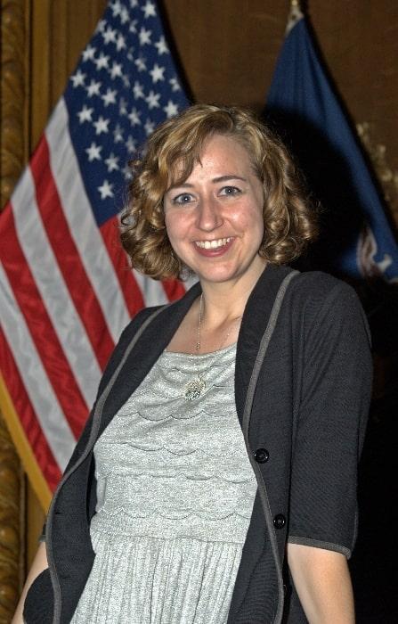 Kristen Schaal as seen at the 2010 Brooklyn Book Festival
