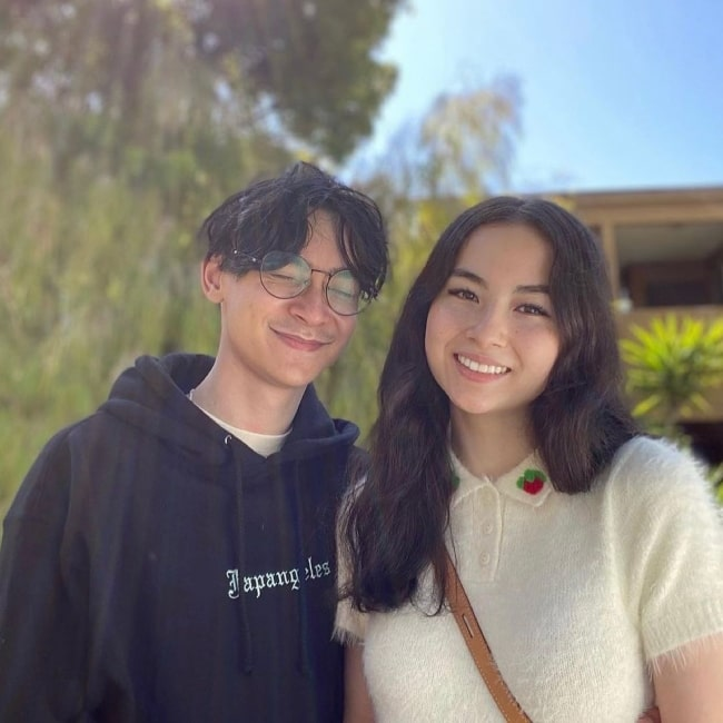 Kyedae Shymko and her boyfriend gamer TenZ as seen in a picture that was taken in Los Angeles in the past