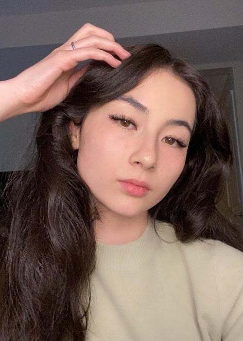Kyedae Shymko as seen in a selfie that was taken in May 2021
