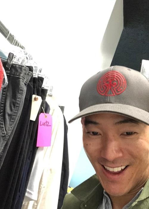 Leonardo Nam as seen in a selfie that was taken in March 2020