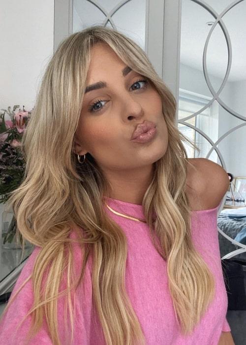 Louise Cooney as seen in a selfie that was taken in Dublin, Ireland in May 2021