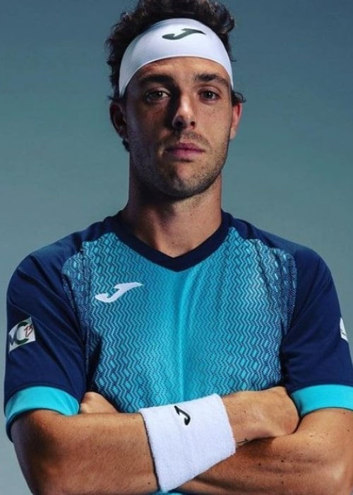 Marco Cecchinato as seen in an Instagram Post in April 2019
