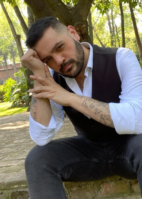 Michael Costello as seen in an Instagram Post in February 2020