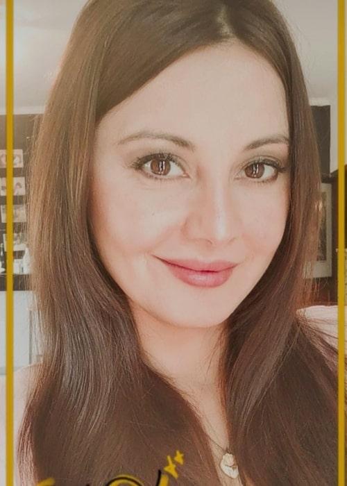 Minissha Lamba as seen in a selfie that was taken in May 2021