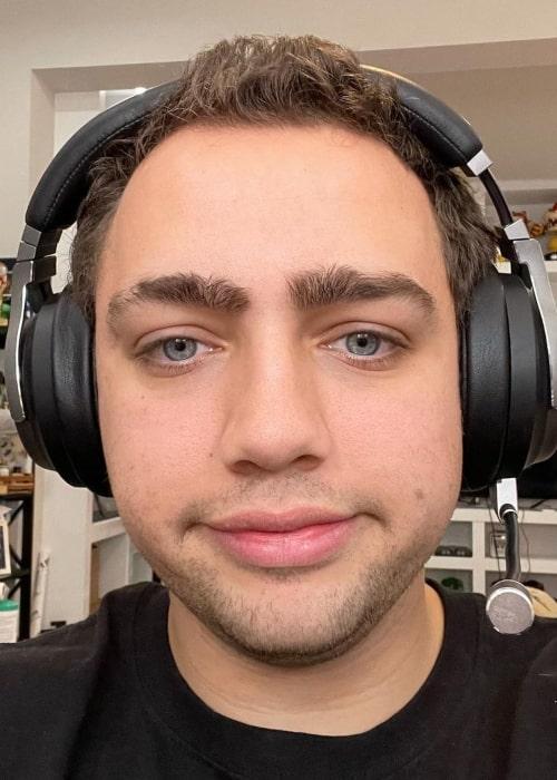 Mizkif as seen in an Instagram Post in April 2021