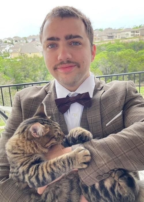 Mizkif as seen in an Instagram Post in May 2021