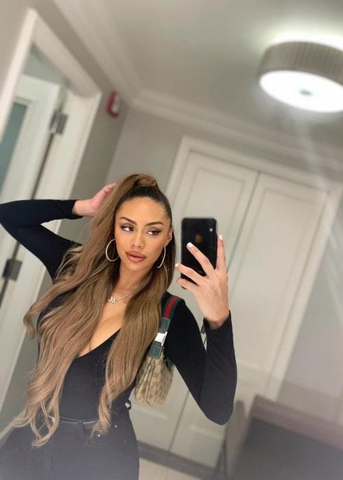 Montana Yao as seen in a selfie that was taken in January 2020