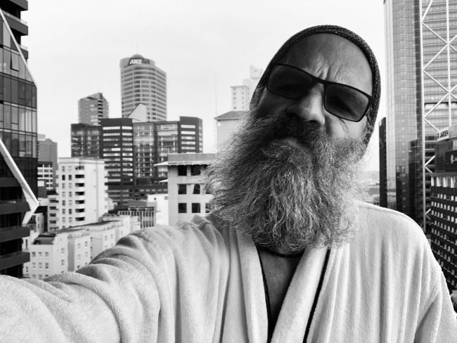 Neil Sandilands as seen while taking a selfie in Auckland, New Zealand in October 2020