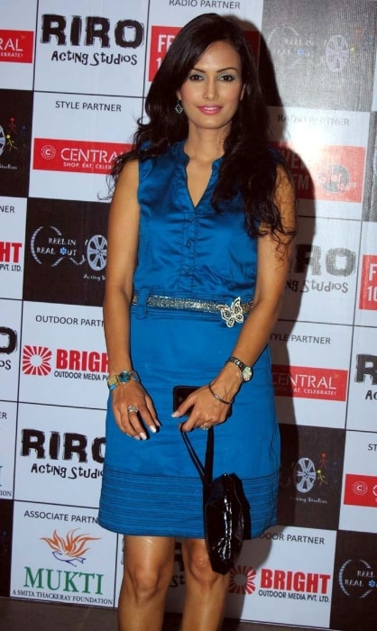 Nisha Rawal pictured during an event in September 2010