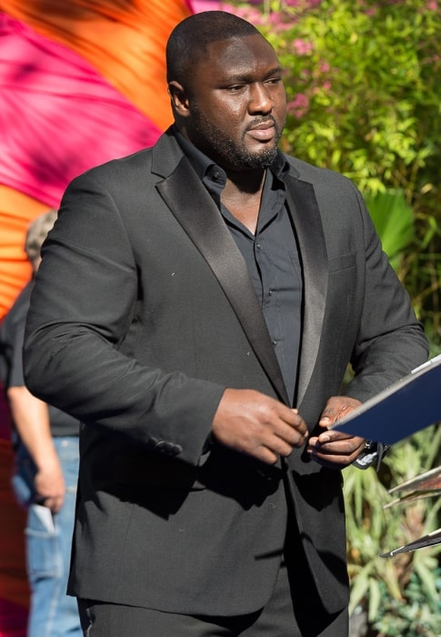 Nonso Anozie pictured at the premiere of 'Pan' in 2015