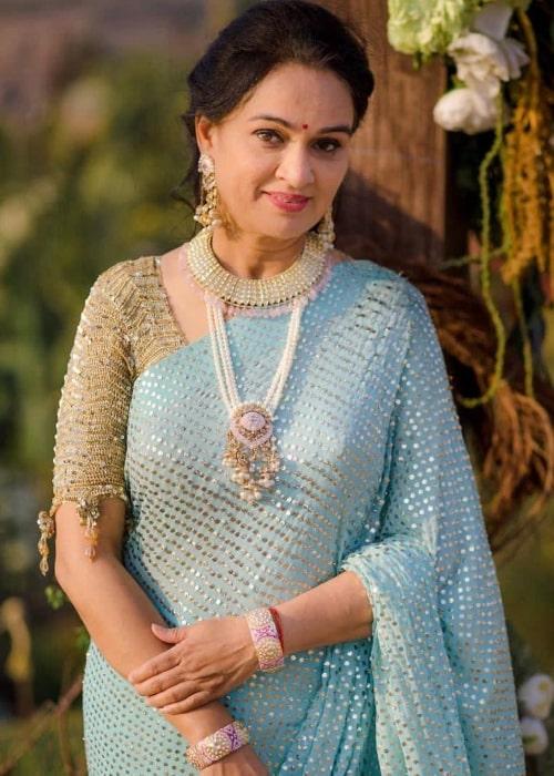 Padmini Kolhapure as seen in an Instagram Post in March 2021