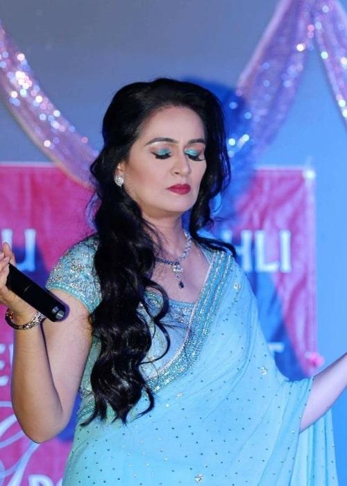 Padmini Kolhapure as seen in an Instagram Post in May 2019