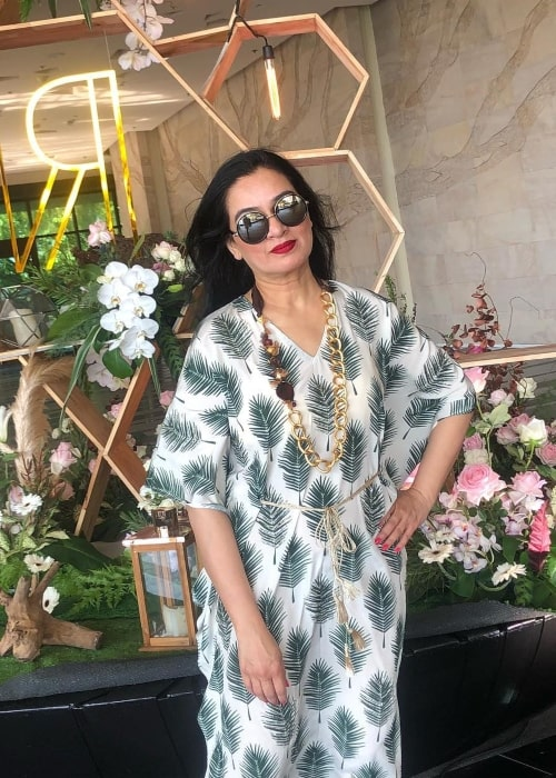Padmini Kolhapure as seen in an Instagram Post in November 2018