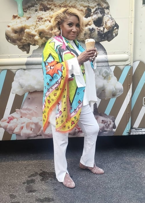 Patti LaBelle as seen in a picture that was taken in May 2021