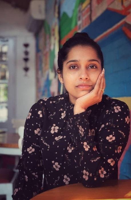 Rashmi Gautam as seen in an Instagram post in May 2020