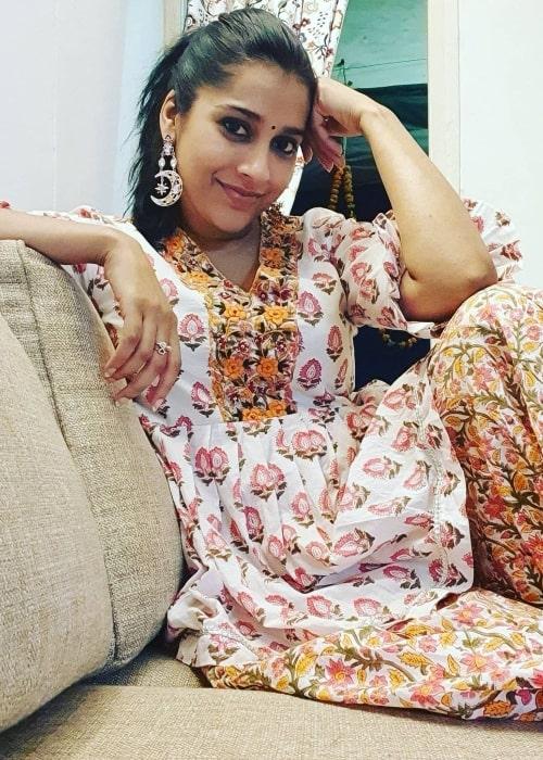 Rashmi Gautam in November 2020