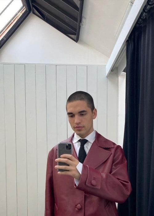 Reuben Selby as seen in a selfie that was taken in June 2020