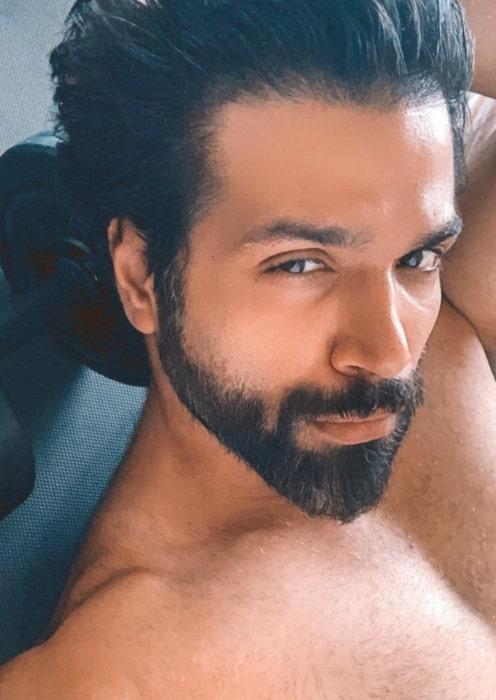 Rithvik Dhanjani as seen in September 2020