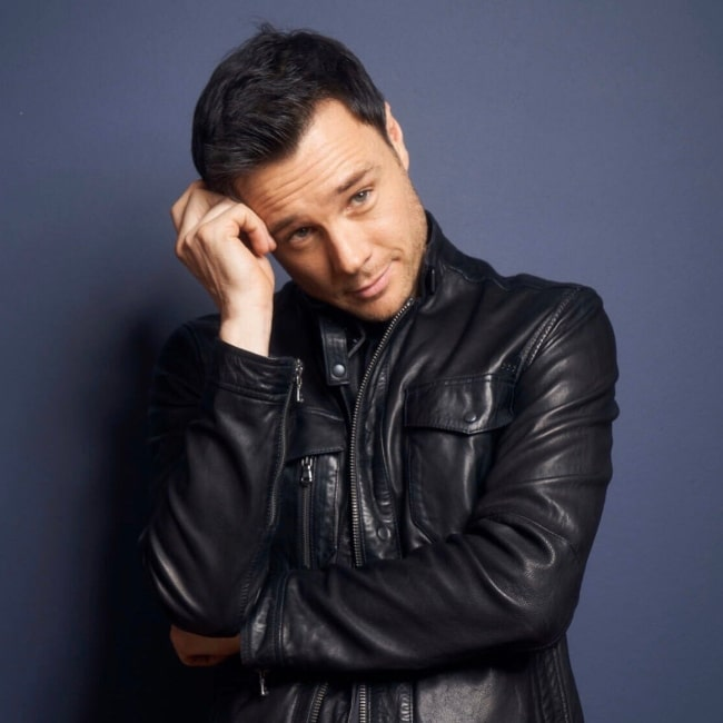 Rupert Evans as seen in a picture that was uploaded to his Twitter in November 2019