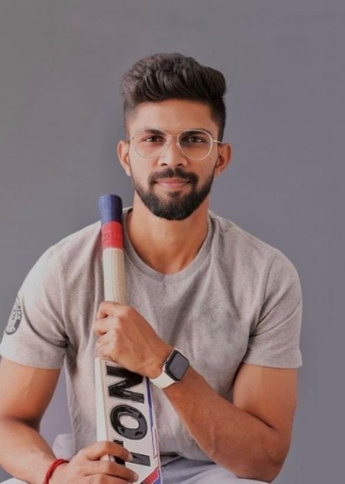 Ruturaj Gaikwad as seen in an Instagram Post in January 2021
