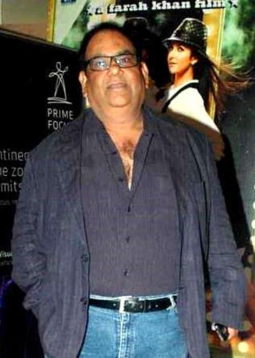 Satish Kaushik as seen at the special screening of 'Tees Maar Khan' in 2010