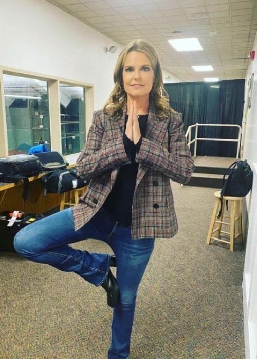 Savannah Guthrie as seen in an Instagram Post in February 2020