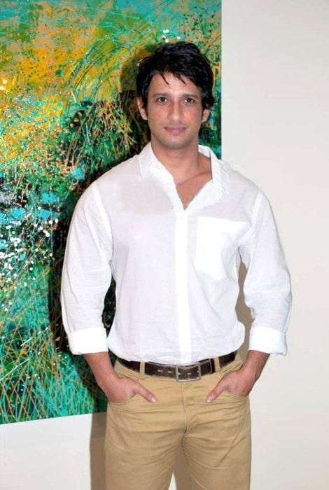 Sharman Joshi at Revati Sharma Singh's art exhibition