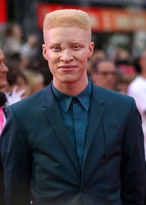 Shaun Ross as seen in a picture that was taken on the red carpet on the square in front of the Rathaus (Town Hall) of Vienna, Austria on May 31, 2014