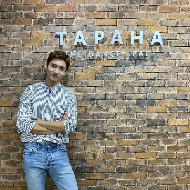 Shim Chang-min as seen in a picture that was taken at TAPAHA in September 2019