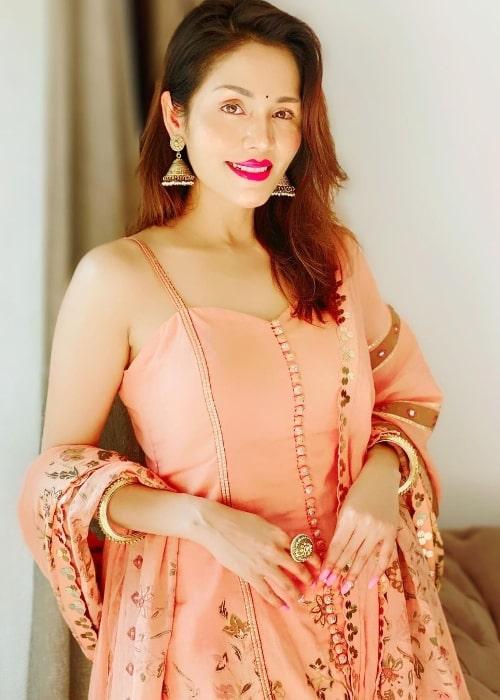 Sonu Kakkar as seen in an Instagram post in November 2020