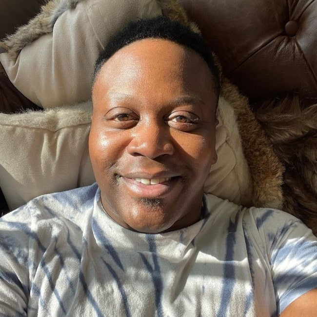 Tituss Burgess as seen while taking a selfie in March 2021