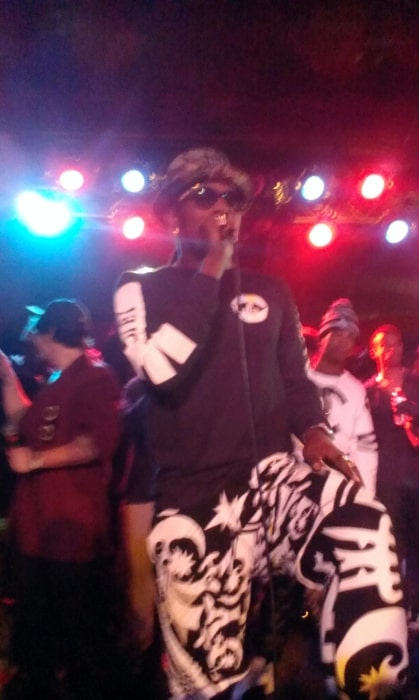 Trinidad James as seen while performing in Atlanta in 2013