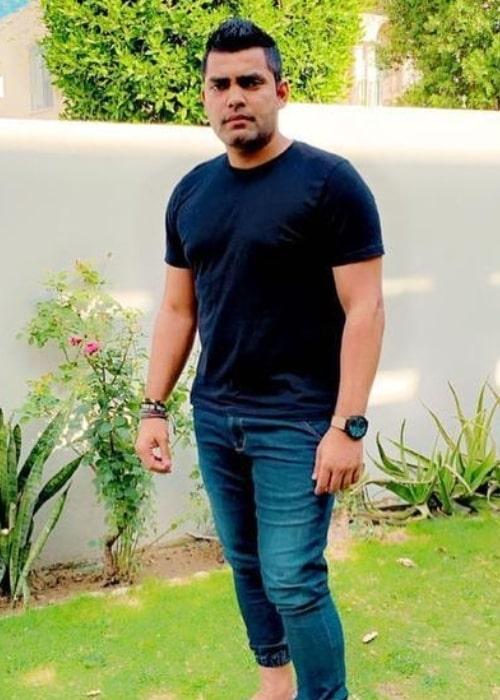 Umar Akmal as seen in an Instagram Post in May 2021