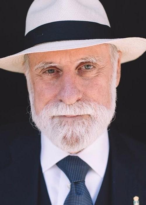 Vint Cerf as seen in an Instagram Post in June 2017