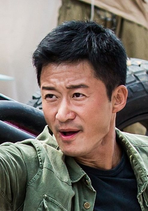 Wu Jing as seen shooting for the film Wolf Warrior 2 in 2016
