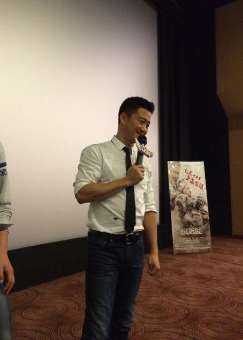 Wu Jing as seen speaking in Nanjing in 2015