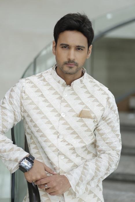 Yash Dasgupta as seen during film promotions