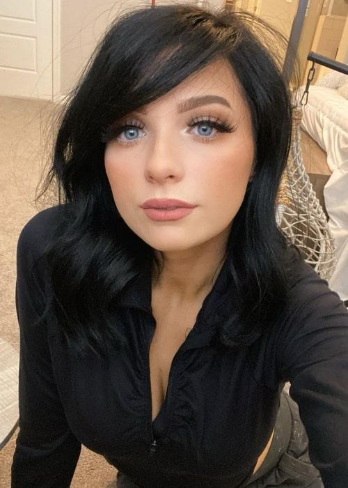 cjades as seen in a selfie that was taken in October 2020