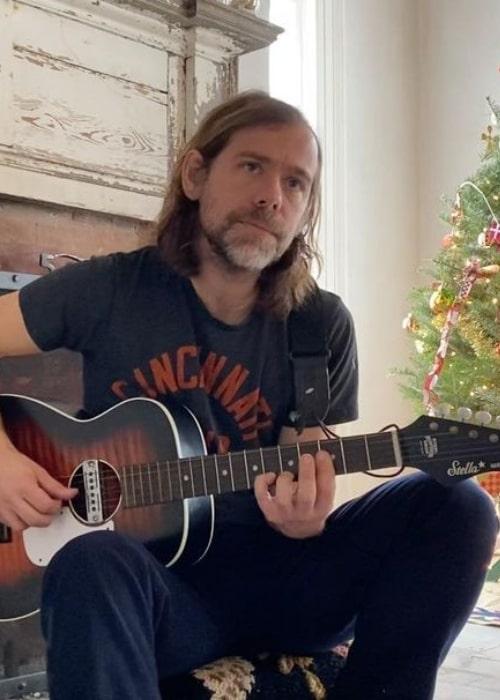 Aaron Dessner as seen in an Instagram Post in December 2020